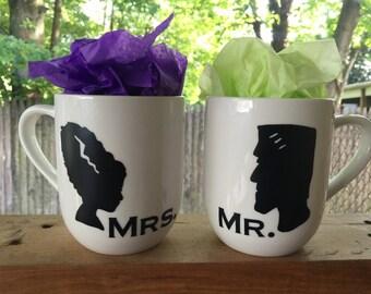 Mr. & Mrs. Frankenstein and Bride of Frankenstein