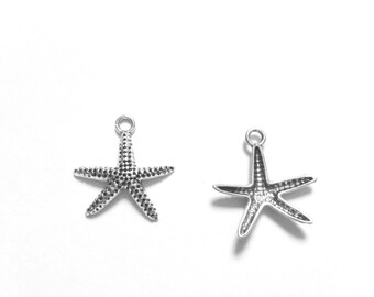 ADD A CHARM - Starfish Sea Star Ocean Beach Nautical - Listing is for One Charm