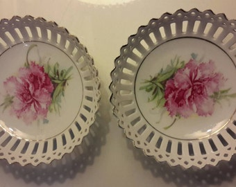 Antique ribbon dishes