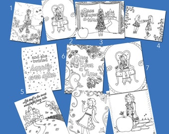 Matilda Jane Themed Coloring Packet (Fall 2016 R1)