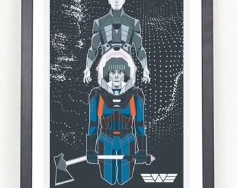 MWR Prometheus poster print
