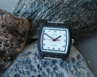 Men's watch Poljot, Vintage watch Poljot, men's watch, Soviet watch, mechanical watch, retro watch, wrist watch, men's wrist watch
