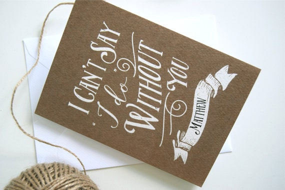 Will You Be My Best Man Cards and Groomsmen Cards