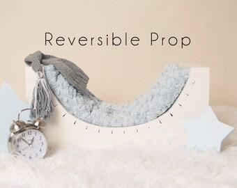 Newborn Photo Prop, Curved Bench, Newborn Prop, Newborn Bed Prop, Photo Prop