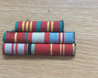 Soviet Medal Ribbon Bar (8 medals)