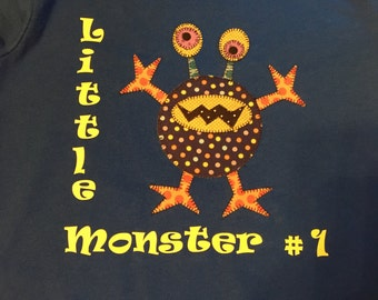 Boys little monster T Shirt