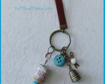 A Very Dainty Seamstress Keychain