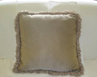 Silk sari pillows