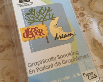 30%OFF SALE New Cricut Cartridge, Graphically Speaking