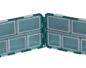 Green Box 10 Compartments Small Size