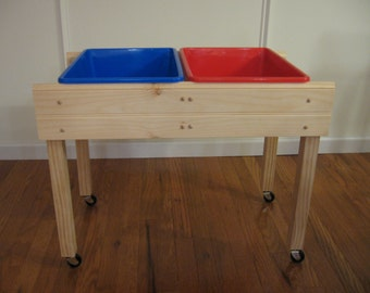 Sensory table children's activity table