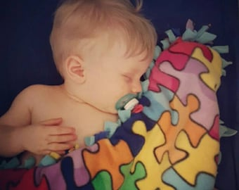Puzzle Play Snuggle Blankie