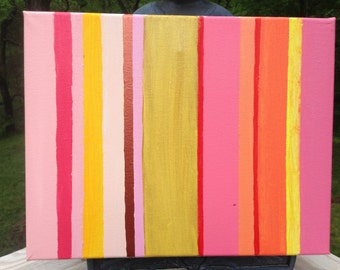 "11""x14"" abstract acrylic"