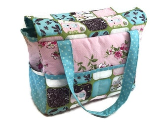 Doll Diaper Bag, pretend play, doll accessories, Christmas gift, Birthday gift