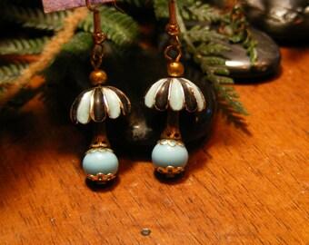 Vintage Lamp Earrings