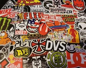 Stickers Stickers lot brand skateboard, Snowboard, Rider, ski, bike...