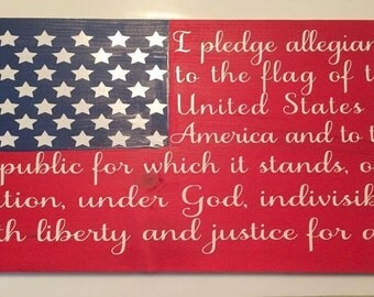 Pledge of Allegiance SVG   SVG   Pledge of Allegiance   American flag   Patriotic SVG