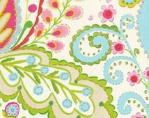 Dena Designs - Kumari Garden - Teja in Pink - 100% Cotton Fabric by the Yard - You Choose Your Cut