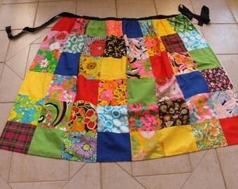 Handmade Patchwork Maxi Apron           Sz One Sz