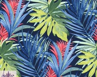 Flower Tropical Leaf Print