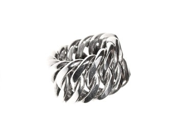 silver ring (chain)