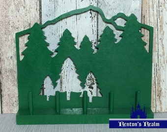 Forest Finger Puppet Display Stand DIGITAL PATTERN ONLY