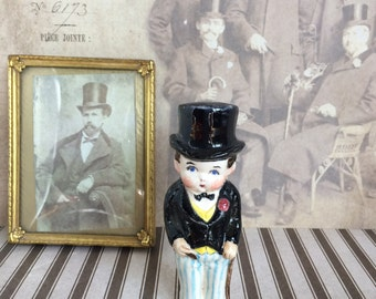 Mystery Guy In Top-Hat Figurine