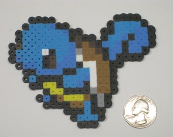 Squirtle Perler Bead Sprite, Pokemon