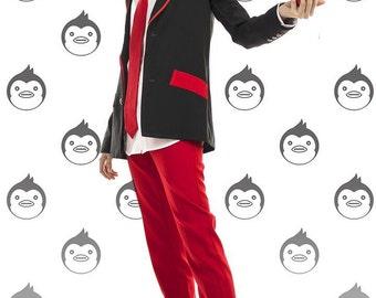 Mawaru Penguindrum cosplay Kanba and Shouma Takakura school uniform