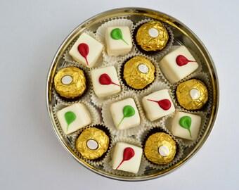 Customized Sugar-Free OR Sugar-Added Petits-Fours & Chocolates