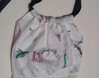 Horse infant crop top Newborn-5T
