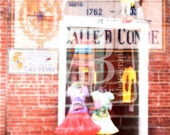 French Quarter Window Shopping