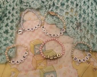 Personalized Baby Bracelets
