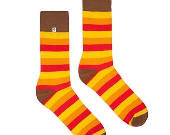 Warm Stripes Socks