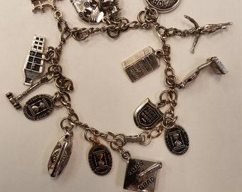 Vintage Tops Charm bracelet