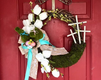 Example of a custom wreath
