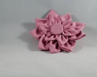 Pink Kanzashi Hair Clip