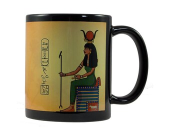 Hathor cup - personalized with your name in hieroglyphs
