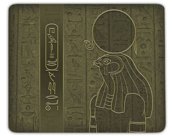 Mousepad Ra - personalized with your name in hieroglyphs