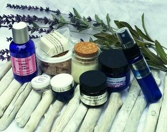 organic Spa gift box Pamper Gift set bridal shower gift set bridesmaids gift set  organic gift set vegan gifts