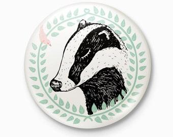 The Badger - Pocket Mirror