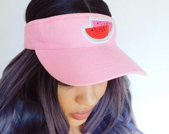 Pink Watermelon Visor