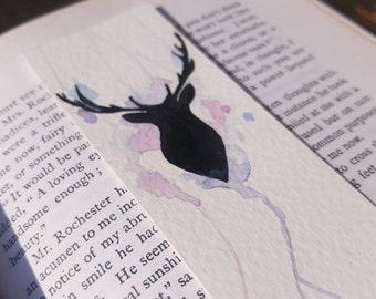 Bookmark   Stag   Watercolour / Watercolor