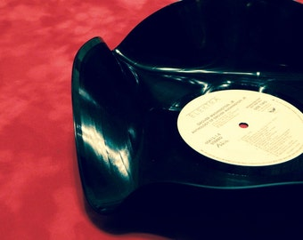Vintage Style Record Bowl
