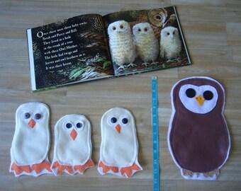 Owl Babies Felt Set