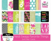 "Project Life ""Favorite Things"" Edition - 3x4 Cards"
