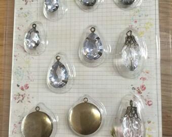 Set trailer 'Vintage Trunkets' - medallions & diamonds
