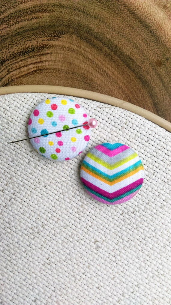 Needle Minder Chevron and Polka Dots (2 in 1 Reversible)