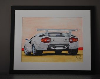 "Shop ""lamborghini"" in Drawing & Illustration"