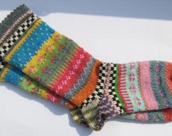 Fair Isle socks Abebi Gr. 38 / 39